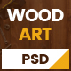 WoodArt - Carpenter PSD Template