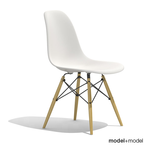 Eames Plastic Side Chair DSW   3DOcean Item For Sale