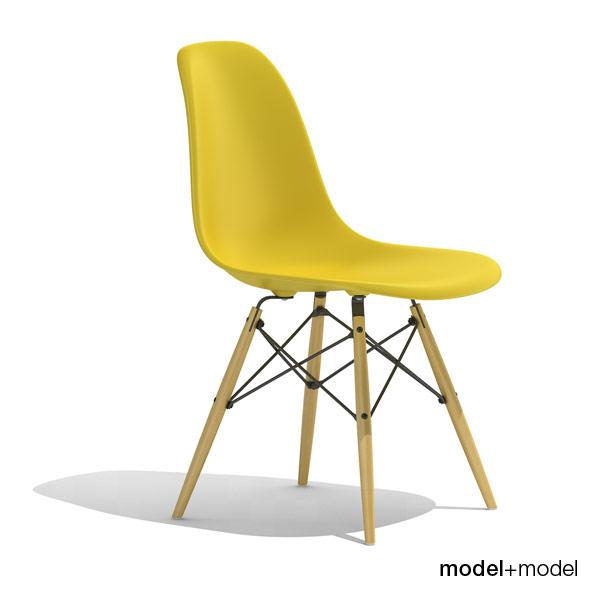 Eames Plastic Side Chair Dsw By Modelplusmodel 3docean