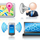 Communication Theme Icon Set - GraphicRiver Item for Sale