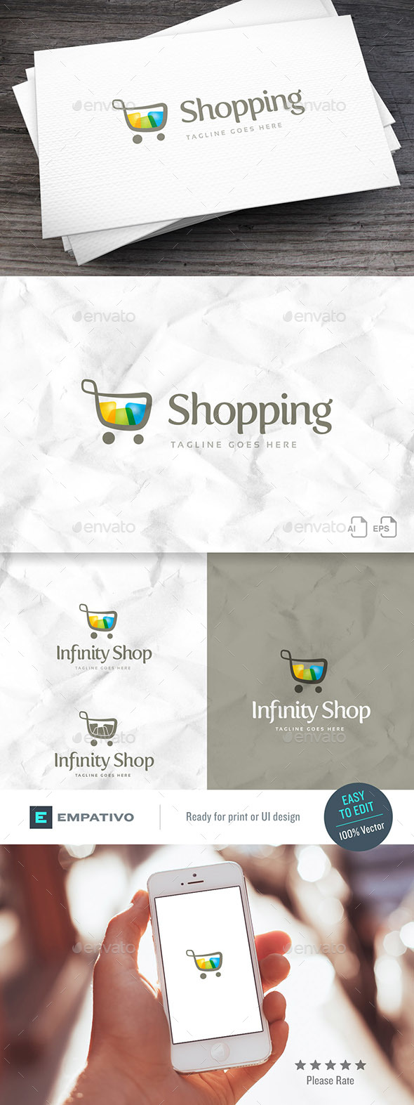 Infinity Shop Logo Template