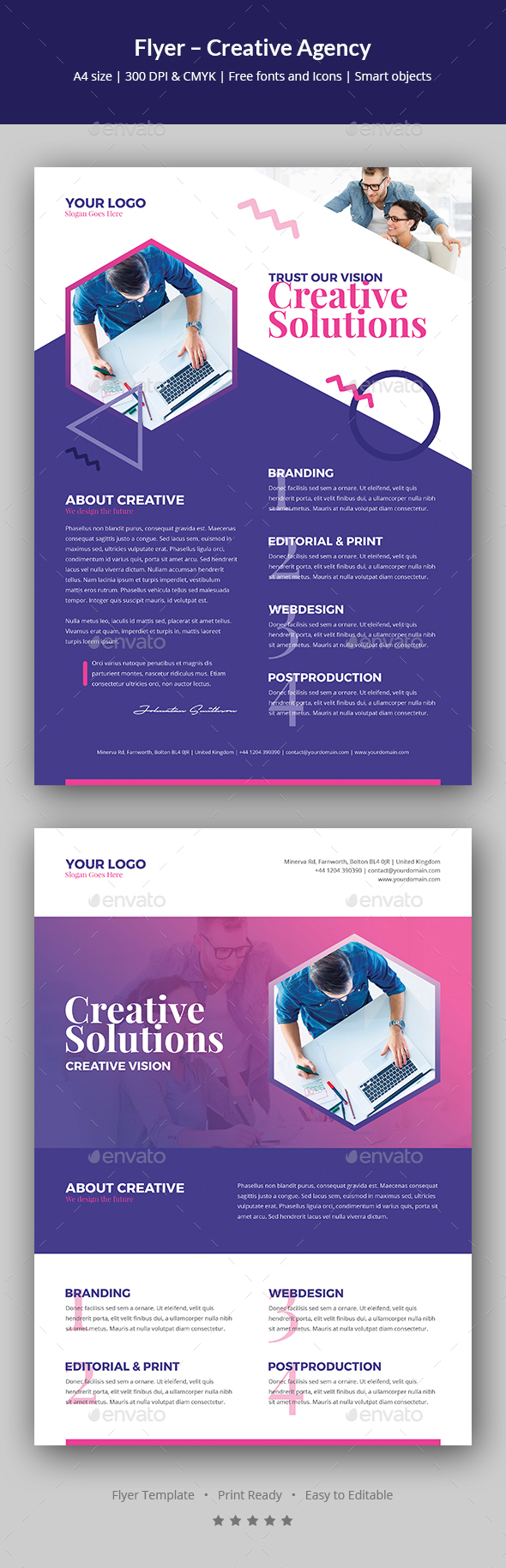 Flyer – Creative Agency