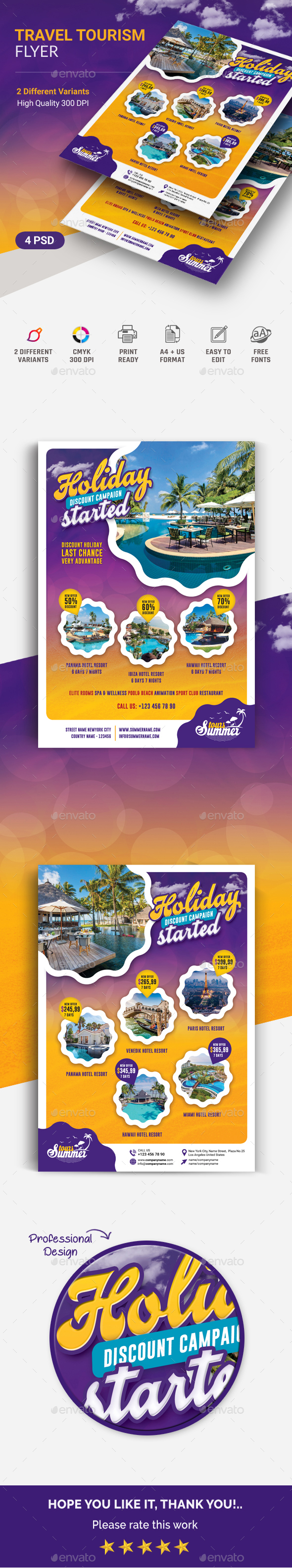 GraphicRiver Travel Flyer 20794545