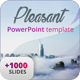 Pleasant PowerPoint Template - GraphicRiver Item for Sale