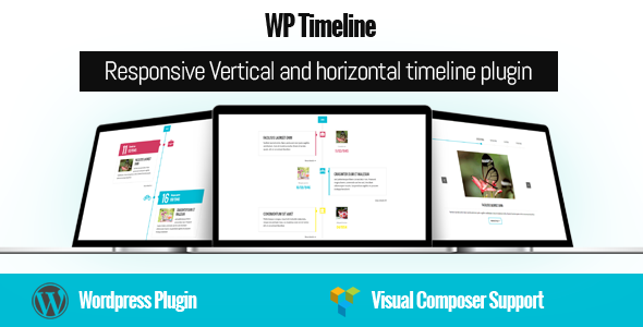 WP Timeline - Responsive Vertical and Horizontal timeline plugin - CodeCanyon Item for Sale