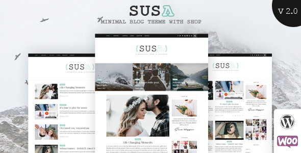 Image of Susa - Responsive WordPress Blog Theme