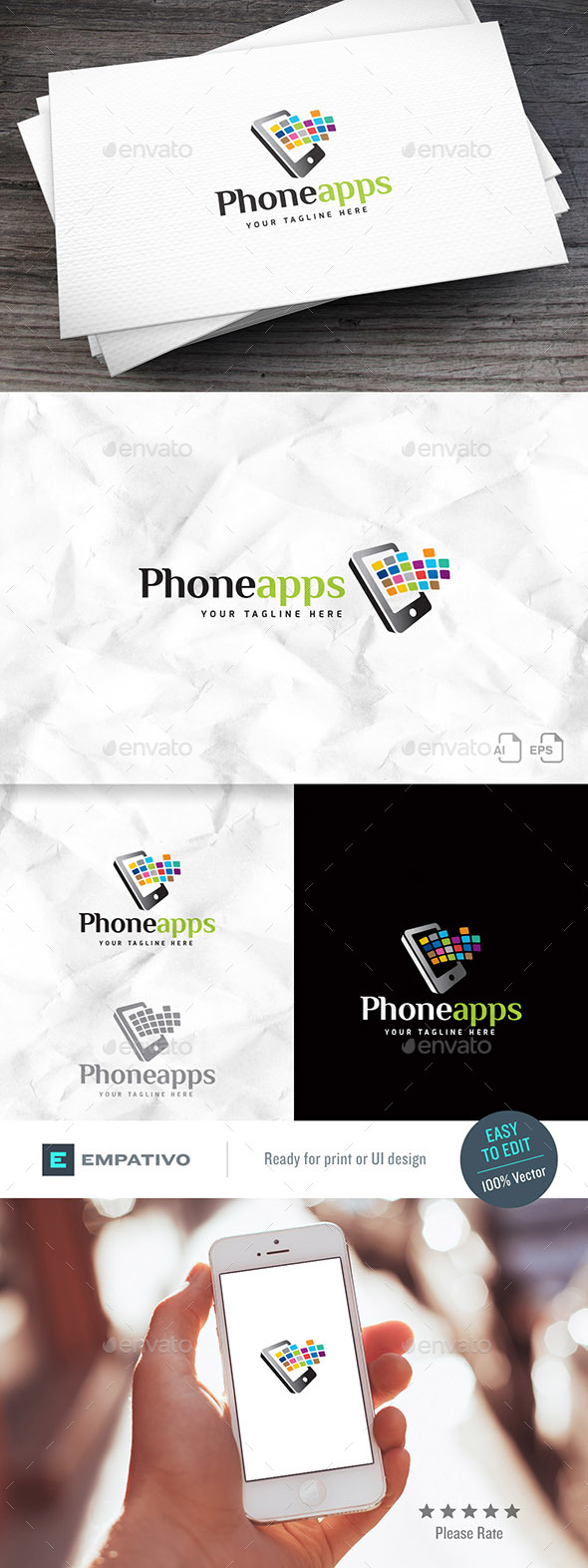 Phoneapps Logo Template - Objects Logo Templates
