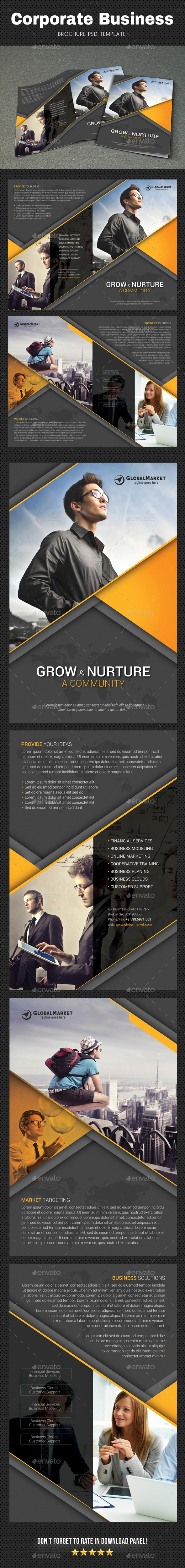 GraphicRiver Corporate Brochure 3 20795181