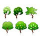 Set of tree symbols - GraphicRiver Item for Sale