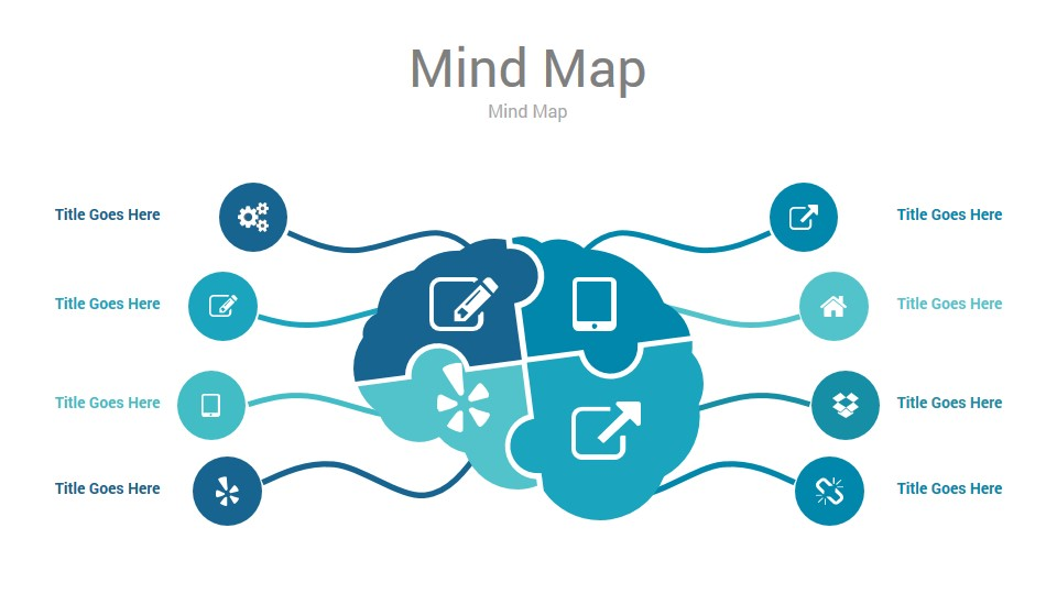 Mind Map Powerpoint Presentation Template By Rainstudio Graphicriver
