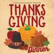 Thanksgiving Dinner Celebration Flyer