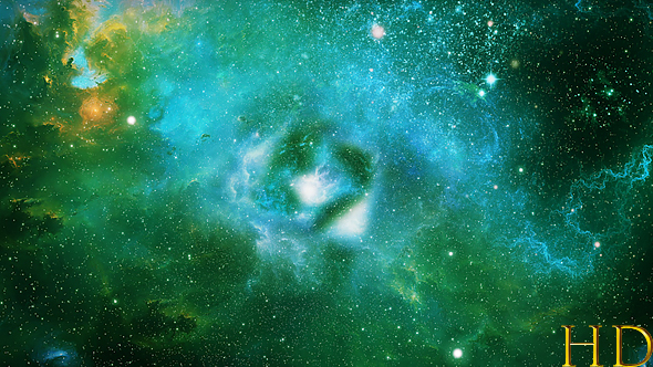 Abstract green space nebula background by ketrinprize - Space wallpaper green ...