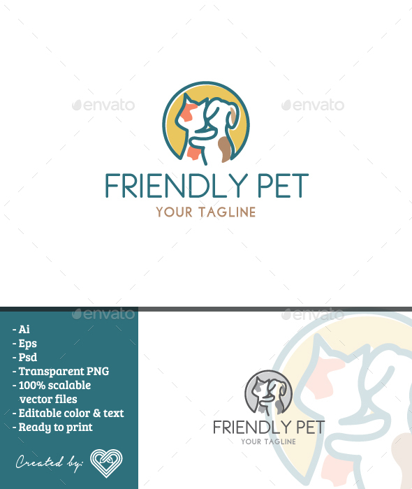 GraphicRiver Friendly Pet 20795656