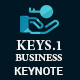 Keys 1 Business  2 in 1 Keynote Template Bundle