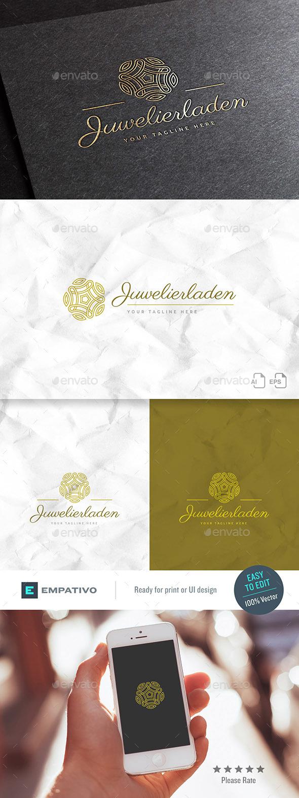 Juwelierladen Logo Template - Crests Logo Templates