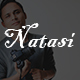 Natasi-One Page Personal HTML5 Template