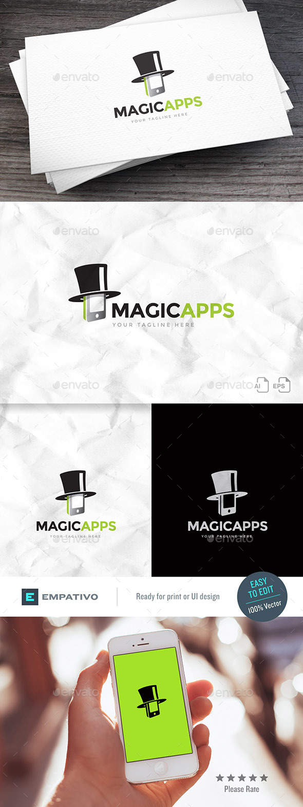 Magic Apps Logo Template - Objects Logo Templates