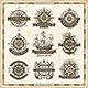 Vintage Nautical Labels Collection - GraphicRiver Item for Sale