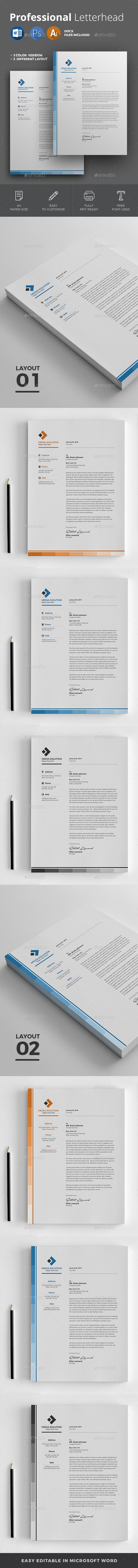 GraphicRiver Letterhead 20796059
