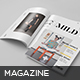 Mild Magazine Template - GraphicRiver Item for Sale