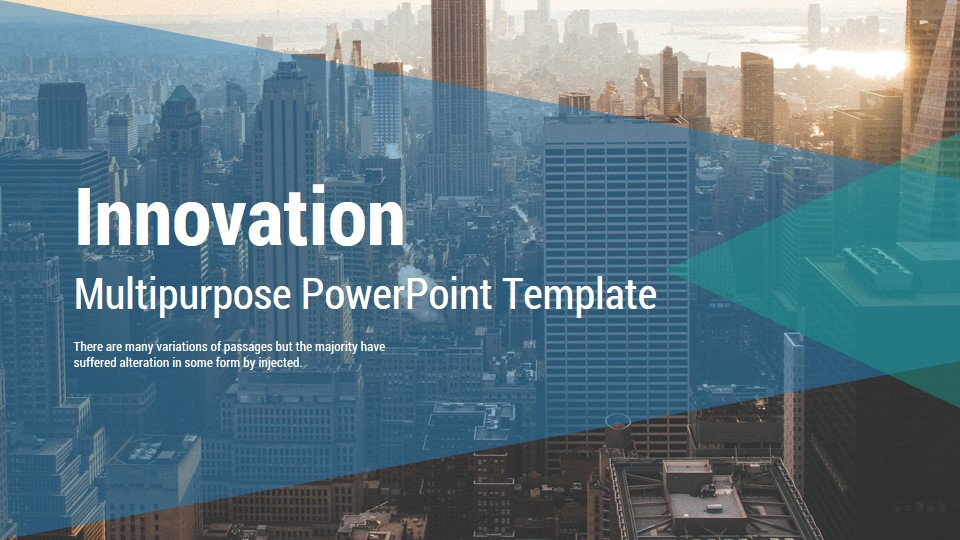 Innovation multipurpose powerpoint presentation template by as 4it innovation multipurpose powerpoint presentation template toneelgroepblik Gallery