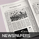 Storia Newspaper Template - GraphicRiver Item for Sale