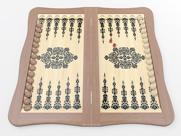 Backgammon - 3DOcean Item for Sale