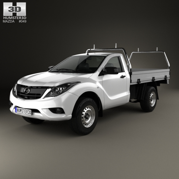 Mazda BT-50 Single Cab Alloy Tray 2016