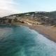 Aerial View of Beach Near Azenhas Do Mar