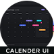 Calendar Interface - One Dashboard