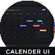 Calendar Interface - One Dashboard - ThemeForest Item for Sale