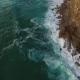 Aerial View of Ocean Near Azenhas Do Mar