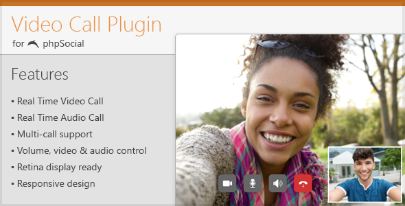 Video Call Plugin for phpSocial - CodeCanyon Item for Sale
