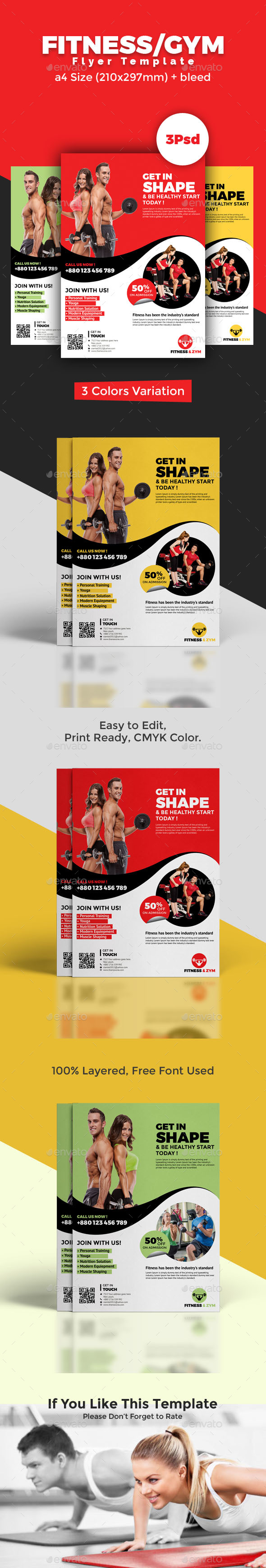 Fitness/Zym Flyer - Sports Events