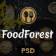 FoodForest | Restaurant PSD Template