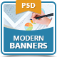 Modern Business Banners - GraphicRiver Item for Sale