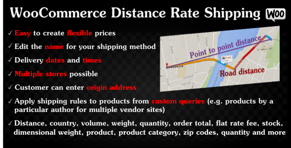 WooCommerce Distance Rate Shipping