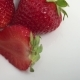 Red Strawberry, Berry Fruit, Sweet Ripe, Healthy. Fresh, Juicy Strawberries Clockwise Rotation - VideoHive Item for Sale