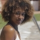 Black Woman on Poolside