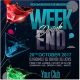 Weekend Drink Flyer Template - GraphicRiver Item for Sale