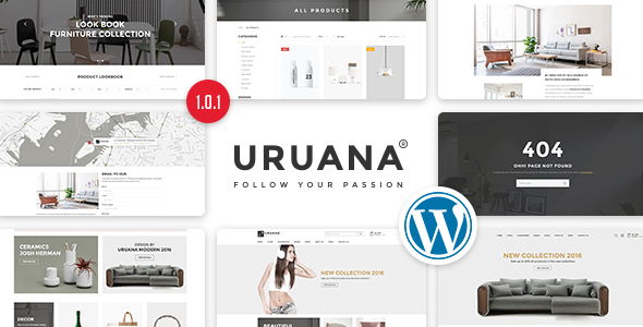 Image of Uruana - Multi Store Responsive WordPress Theme