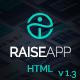 RaiseApp - Responsive UI Kit & Multipurpose Website Template - ThemeForest Item for Sale