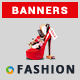 Fashion HTML5 Banners - 7 Sizes - Elite-CC-114