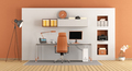 Modern small office - PhotoDune Item for Sale