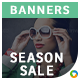 Season Sale HTML5 Banners - 7 Sizes - Elite-CC-120