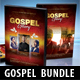 Gospel Fest CD DVD Cover Templates Bundle