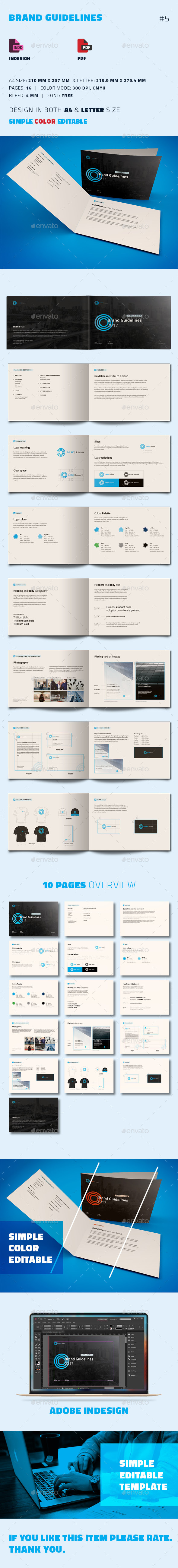 Brand Guidelines - Informational Brochures