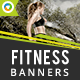 Fitness HTML5 Banners - 7 Sizes (Elite-CC-125) - CodeCanyon Item for Sale