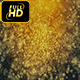 Golden Particles Background