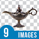 Magic Lamps Collection - GraphicRiver Item for Sale